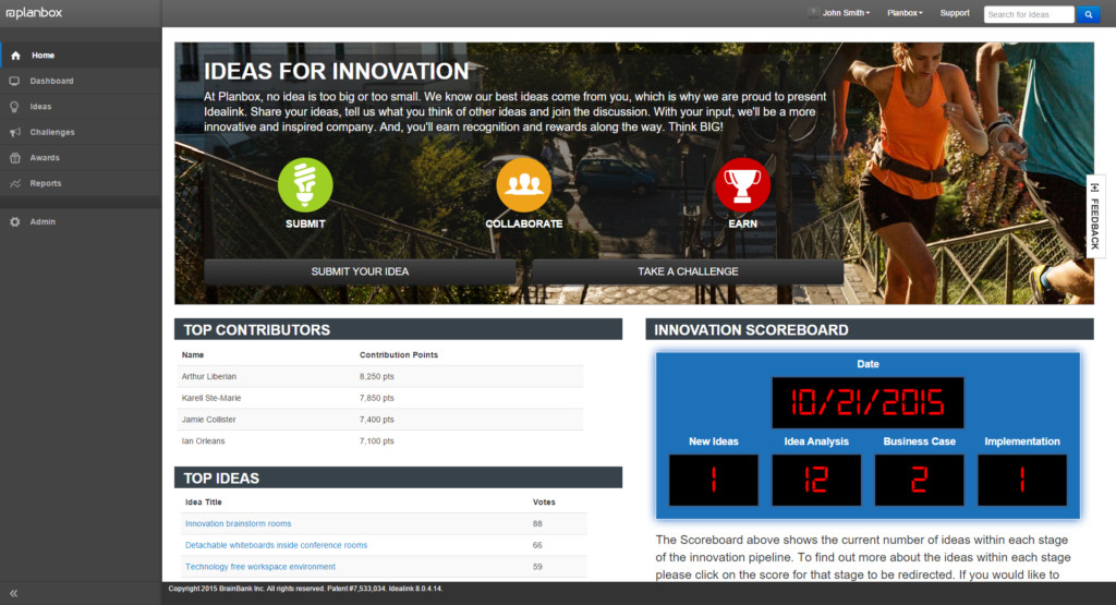 Innovation Management Software - Engage employees, contractors, customers and partners