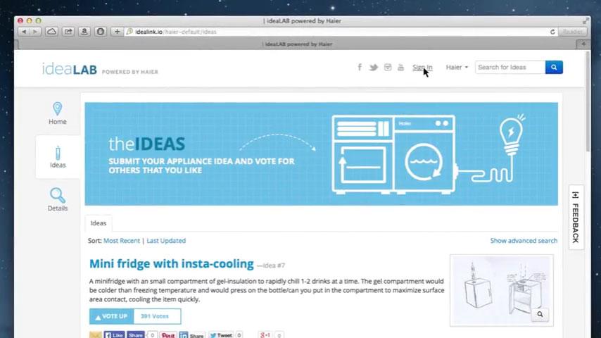 Client Video - Haier - Idealab